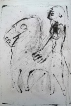 Man and a horse by Edgeworth.
