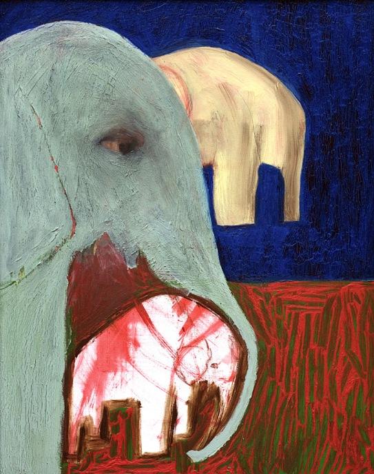 Elephants by Edgeworth.
