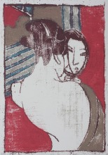After Japanese print