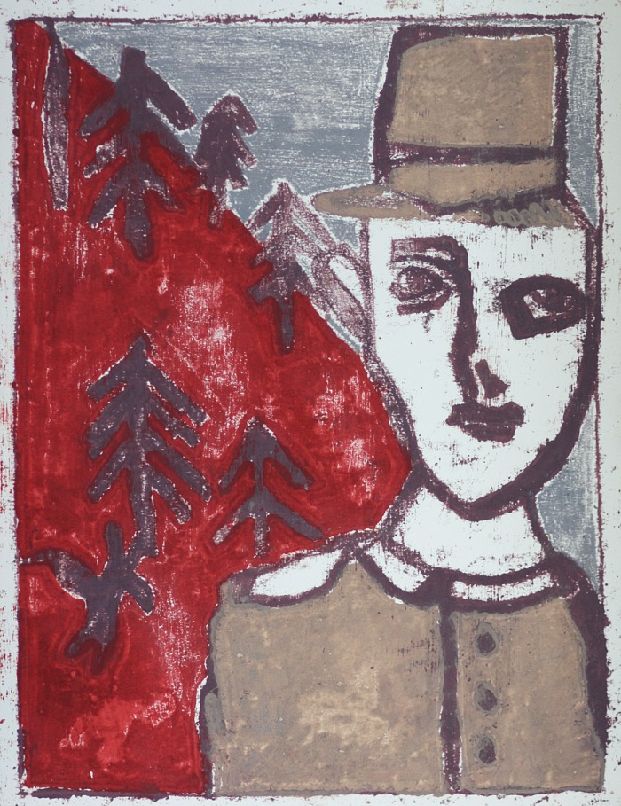 After Billy Childish & Edgeworth collaboration 20