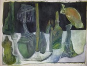 Still life with vulture