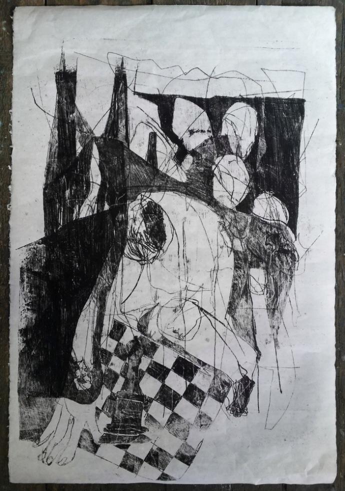 Street chess player - 2016