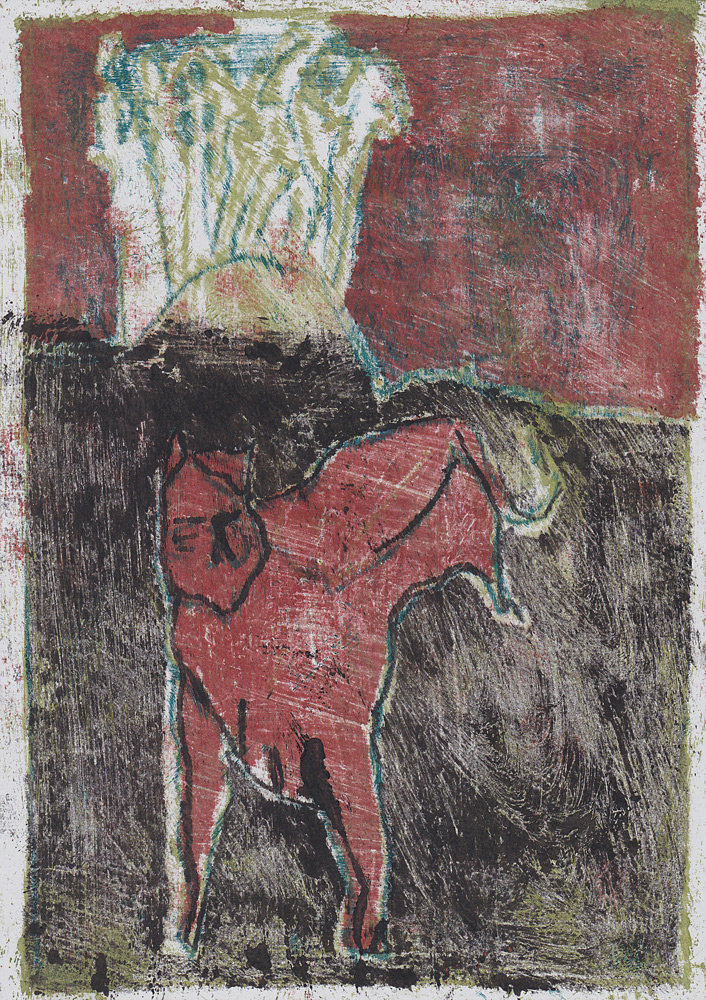 Cat and distant horseman 5