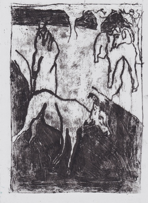 Man with goats 3