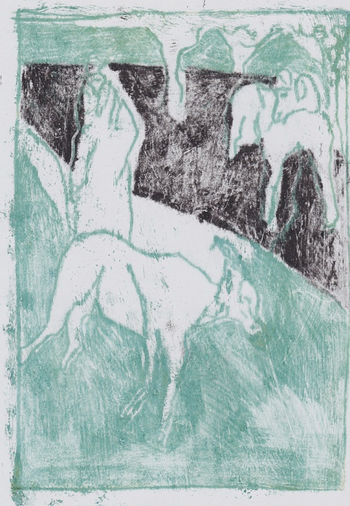Man with goats 4