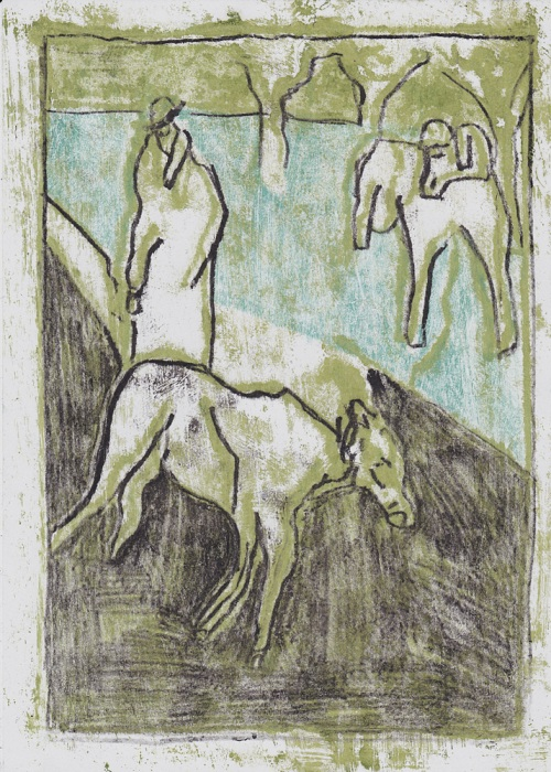 Man with goats 5