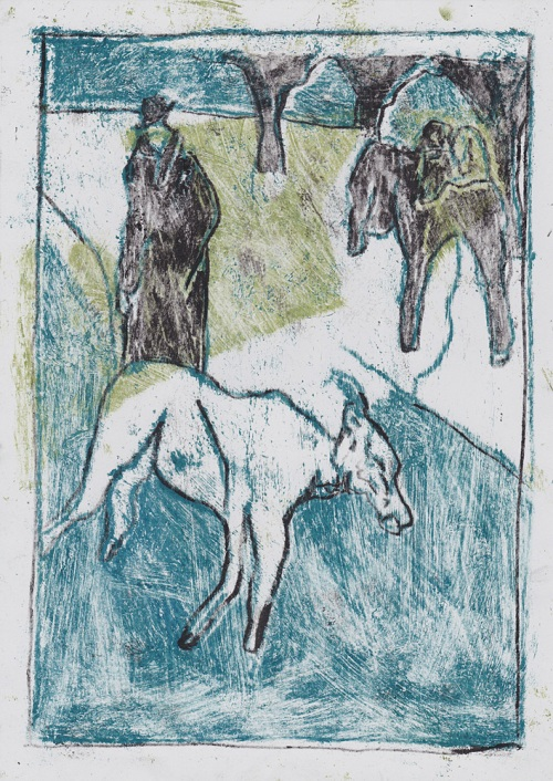 Man with goats 6