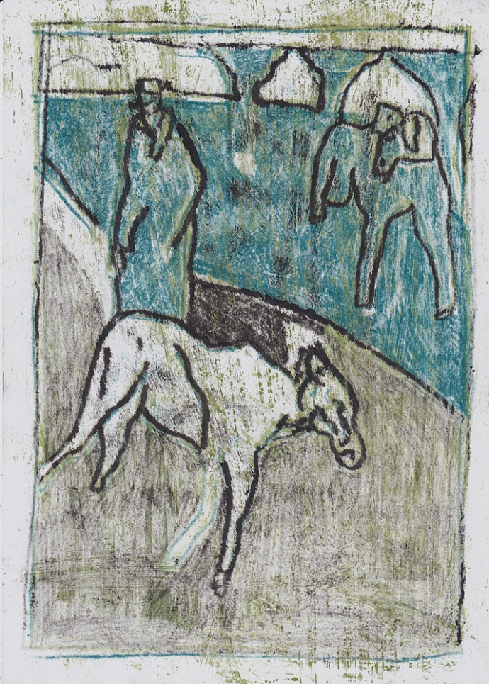 Man with goats 7