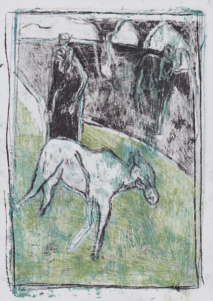 Man with goats 8