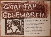 Goat tap lyrics and woodcuts.