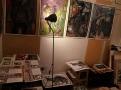 Artist studio photo.