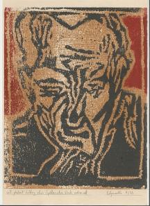 Self-portrait holding chin (yo-b-rr) 7 of 25