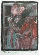 Self-portrait in the studio 1