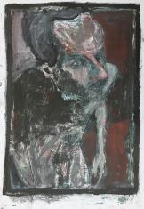 Self-portrait in the studio 2