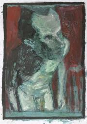Self-portrait in the studio 4