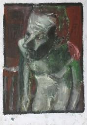 Self-portrait in the studio 5