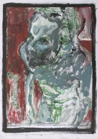 Self-portrait in the studio 6