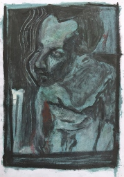 Self-portrait in the studio 8