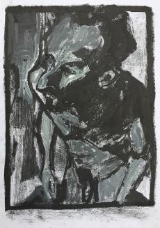 Self-portrait in the studio 9