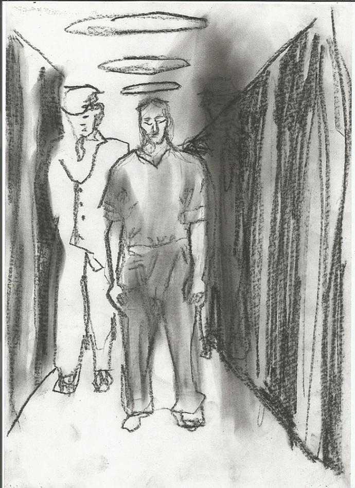 Walking prisoner