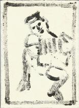 Dancing soldier 2 (After Mikhail Larionov)