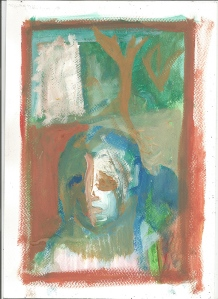 Boy in a woods by Edgeworth.