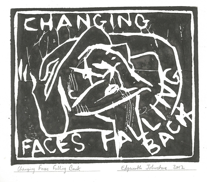 Changing faces falling back