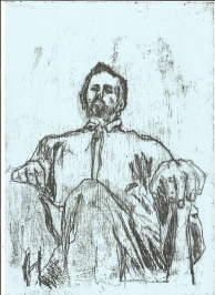 Self-portrait from ankle heigh