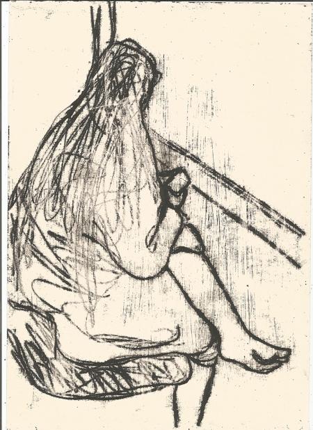 Shelley by a window