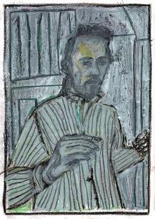 Self-portrait, white