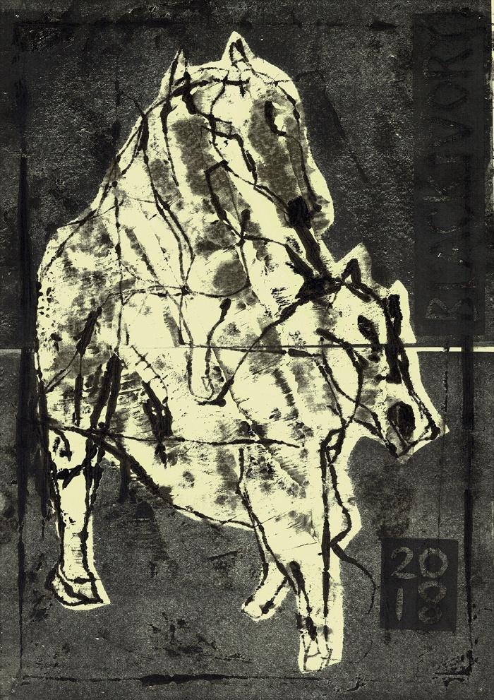 Mating horse 2