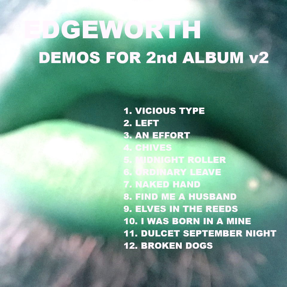 demos for 2nd album v2