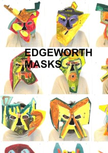 display the cover of Edgeworth Masks catalogue cover