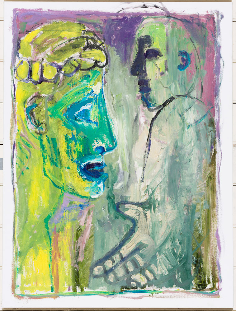 As yet untitled 36 – by Heckels Horse (Billy Childish & Edgeworth)