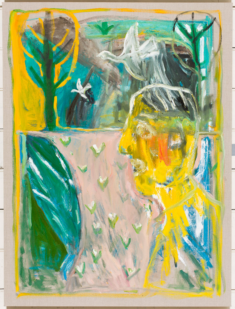 As yet untitled 38 – by Heckels Horse (Billy Childish & Edgeworth)