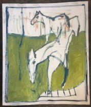 horses with bare trees_1000