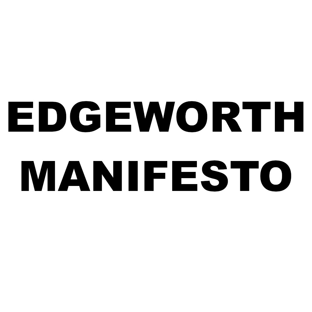 Edgeworth Manifesto