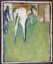 horse by a fence_1000