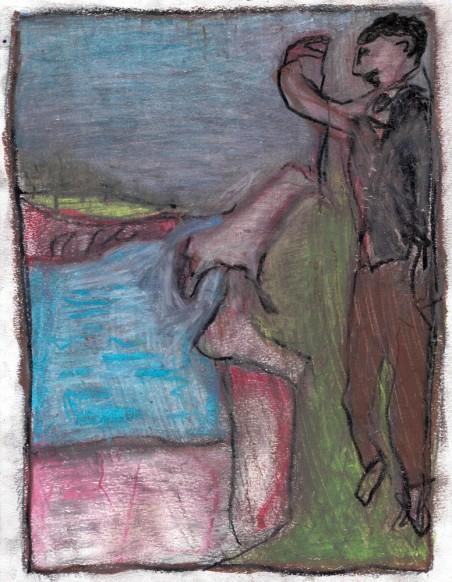 shepherd at a cliff op 1000