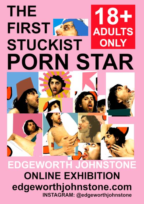 the first stuckist porn star poster_1000